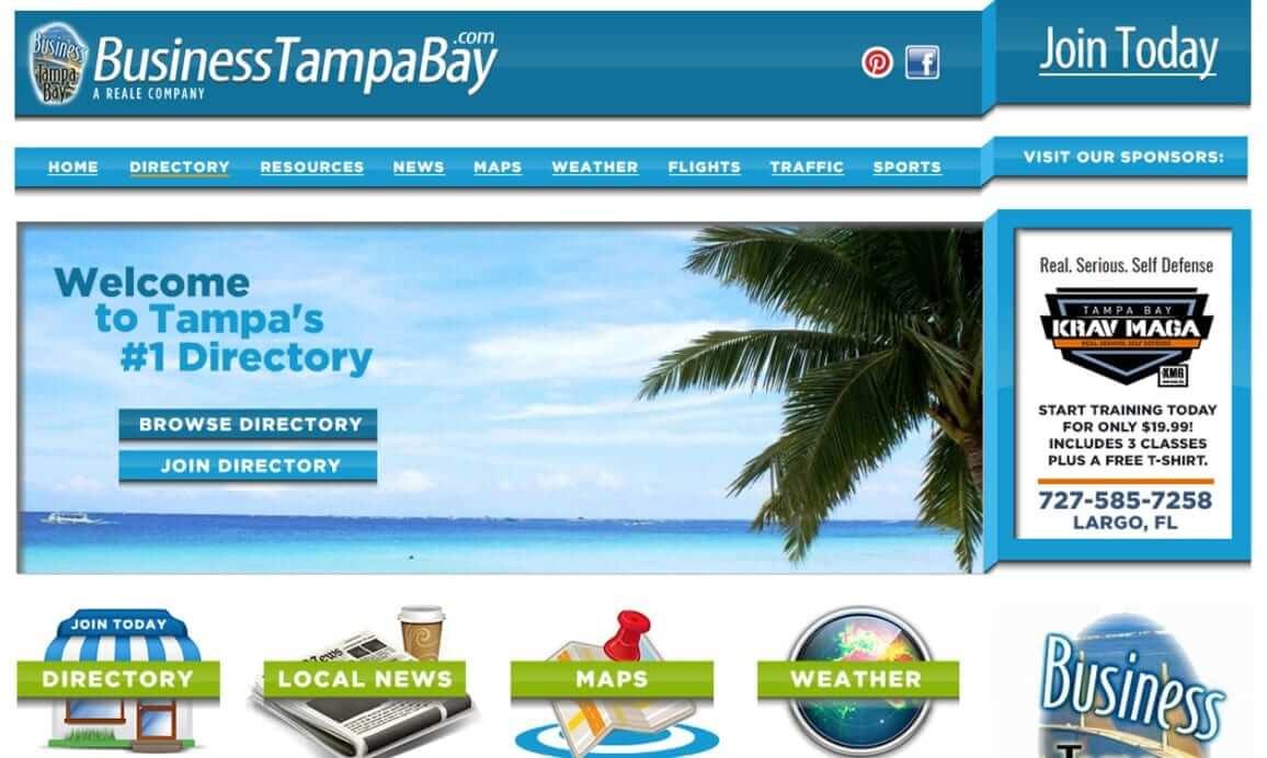 Custom Web Designer Portfolio Tampa