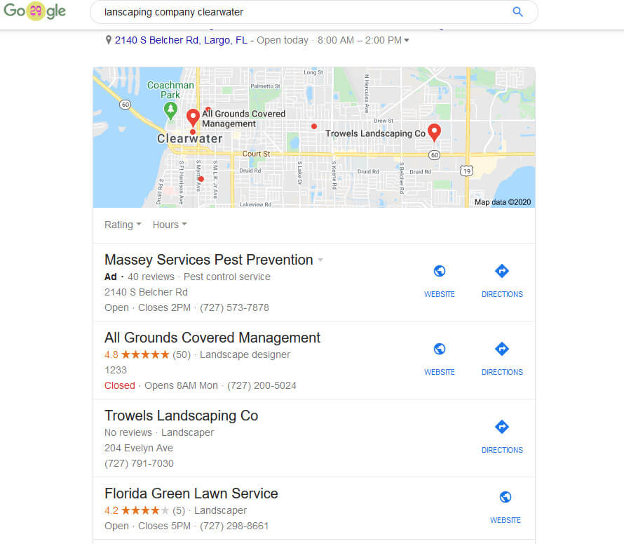 Local Search Marketing Tampa